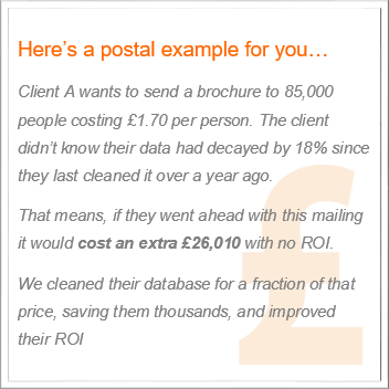 Intermedia Global saved a client thousands through data cleaning