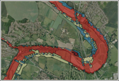 land identification - flood sample