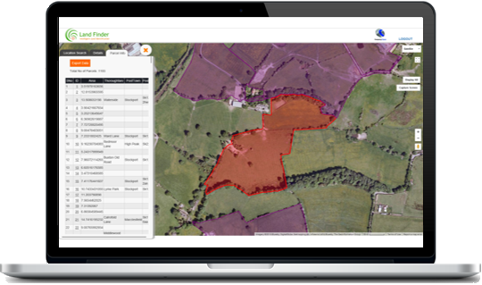 Land Identification tool