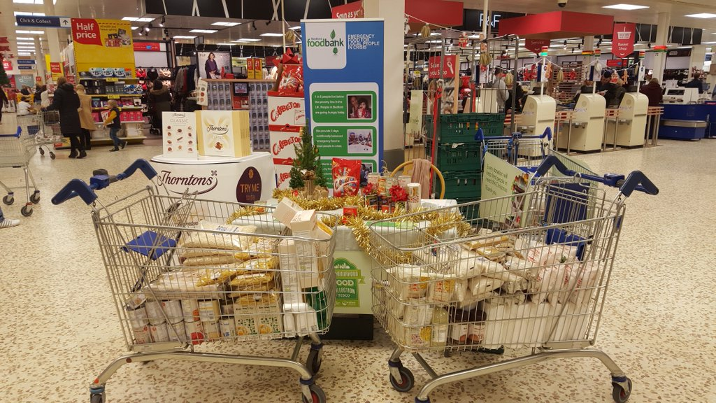 Our charity trolleys from 2015
